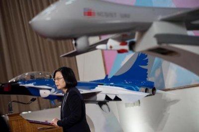 蔡英文宣布即将量产无人机 军方人士称根本不可能