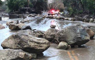 美国加州泥石流已致15死25伤 还有不少人受困家中无法离开