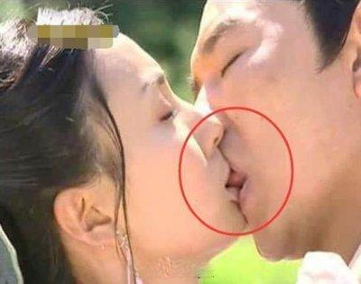 钟丽缇拍吻戏 竟把张家辉吻到血管爆裂 这亲吻太彪悍了