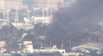 日本自卫队一架武装直升机坠毁 造成1人死亡1人下落不明