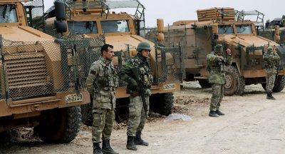 土耳其军队在叙利亚遭炮袭 造成1人死亡5人受伤