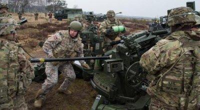 美军主导北约进行炮兵演习 一共有3000多名士兵参加