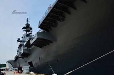 日本执政党正式宣布:针对中国将出云号改为航母真的是针对中国吗