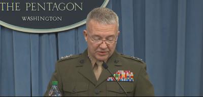 美军公开向叙连射导弹画面 主要瞄准叙利亚三个地方