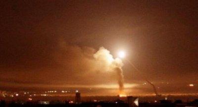 以色列战机对叙发射60枚火箭弹 旨在回应伊朗攻击戈兰高地