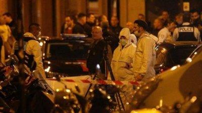 法国巴黎发生恐袭事件致1死4伤 凶手被警察当场开枪射杀