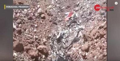 印度米格21坠毁 救援人员至今没有找到机上飞行员