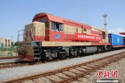 渝甬班列开行半年开行班次超过100班 海铁联运业务量突破1万标准箱