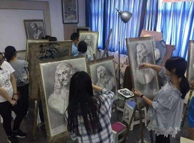 天津弘毅画室 画素描人物时最需要注意的问题