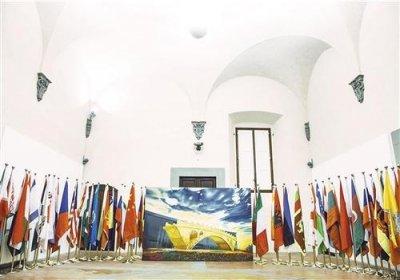 《丝路金桥-丝绸之路国际友谊之桥》油画作品展亮相意大利