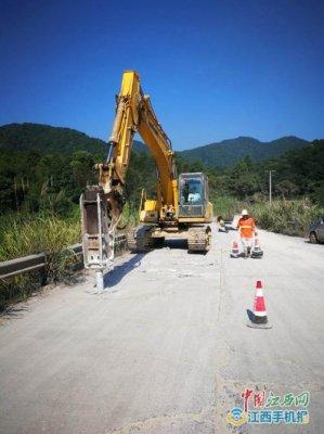 景德镇市S205瑶鹅线浮梁寿安段养护大修工程开工 主体工程11月底完工