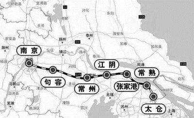 南沿江城际铁路初步设计获批 即将迈入建设实施阶段