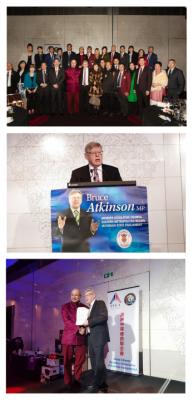 澳洲维州上议院议长服务社区26周年竞选晚宴圆满举行