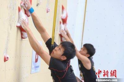 中国攀岩联赛2018赛季第五站在贵州省紫云县紫云格凸攀岩基地开赛