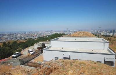 乌鲁木齐雅玛里克山后山区泵站建设完成 正进入最后调试阶段