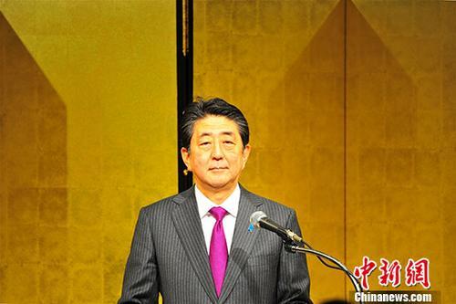 安倍晋三击败石破茂成功连任自民党总裁 任期为三年
