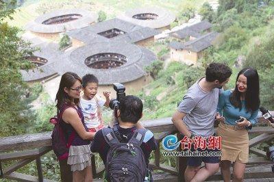 中秋假期第一天福建南靖土楼景区吸客4.59万 门票收入超410万元