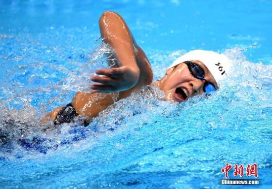 短池世界杯王简嘉禾女子200米自由泳摘铜牌 邱子傲获男子1500米自由泳亚军