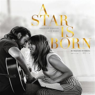 Lady Gaga新电影《一个明星的诞生》北美上映 电影原声带同日推出