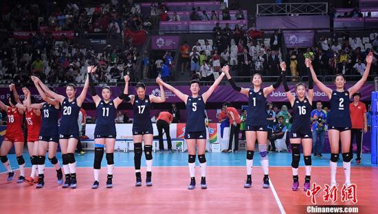 2018女排世锦赛中国队3:0大胜美国 提前一轮晋级六强