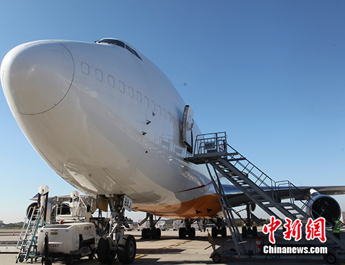 中国与比利时10日正式开通湖北武汉至比利时物流枢纽列日货运航线