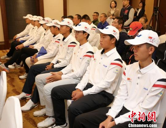首届一衣带水中日青少年高尔夫友好邀请赛在北京开赛
