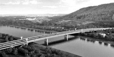 吉印大道跨秦淮河大桥明年7月份开通 全桥总长460米