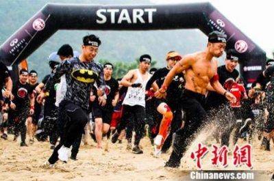 2018英菲尼迪斯巴达勇士赛3日来到杭州 近5000勇士参与挑战