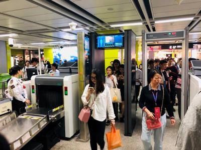 刷脸体验!广电运通智慧安检新方案今日在广州地铁试点上线