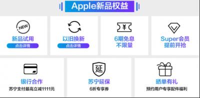 苹果iPad Pro新品苏宁开售,iPad排名双十一悟空榜第一