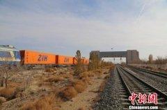 中蒙最大铁路口岸二连铁路口岸出入境中欧班列首次突破1000列