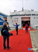 """北海海上观光旅游客船""""北游25""""投入运营 设计航速17.5节"""