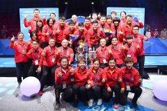 国乒男队 用实力告诉世界什么是中国力量