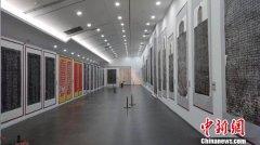 山西展出东汉至近代百余套碑拓作品 将分别走进各市有关高校展馆展出