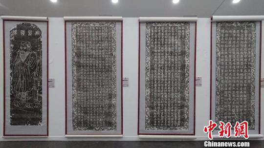 山西历代碑拓书法艺术展共三部分组成。山西工美提供