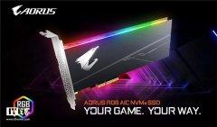 技嘉发布RGB AIC固态硬盘 售价和上市时间尚未公布