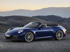 保时捷全新一代911敞篷版开启预售 采用软顶敞篷设计
