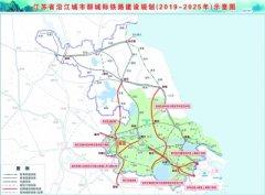 江苏将建8条城际铁路 总投资2180亿元