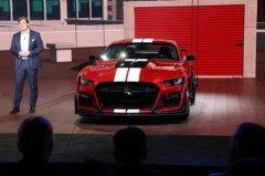福特Mustang Shelby GT500首发 搭载5.2L机械增压V8发动机