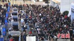 今年春运铁路杭州站预计发送旅客835万人次 同比增长15.0%