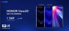 荣耀V20手机巴黎发布 6GB+128GB版售价569欧元