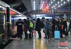 1月25日全国铁路预计发送旅客1020万人次 增开旅客列车698列