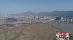 福州市三江口大桥建成通车 设计行车速度为80公里/小时