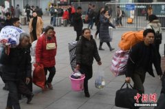 1月30日全国铁路预计发送旅客1007万人次 加开旅客列车837列