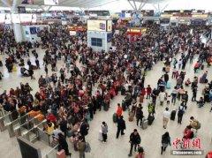 今年春运前10天全国发送旅客7.39亿人次 其中道路6.15亿人次