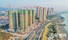 泉州丰泽区北峰潘山安置房项目主体结构封顶 共7栋建筑