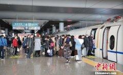 1月28日长三角铁路发送旅客达到223.5万 创历年春运单日发送量新高