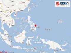 2月8日19时55分菲律宾棉兰老岛附近发生5.9级地震 震源深度10千米