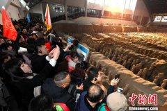 秦始皇帝陵博物院今年春节长假接待观众479387人 和去年同比增长3.88%