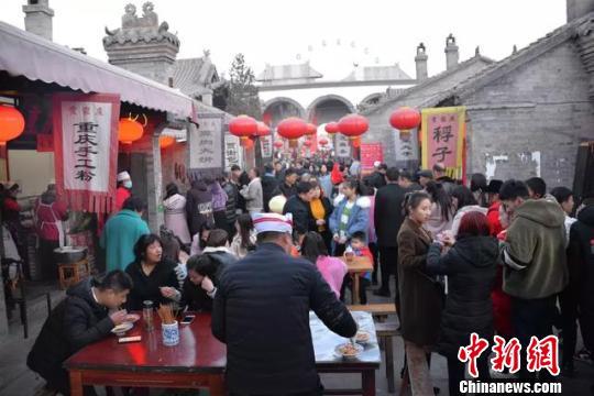 春节期间,山西祥和喜庆的春节氛围吸引了近1800万中外游客。山西省文化和旅游厅供图